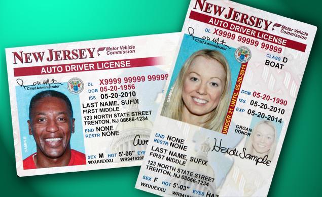 lost drivers license nj