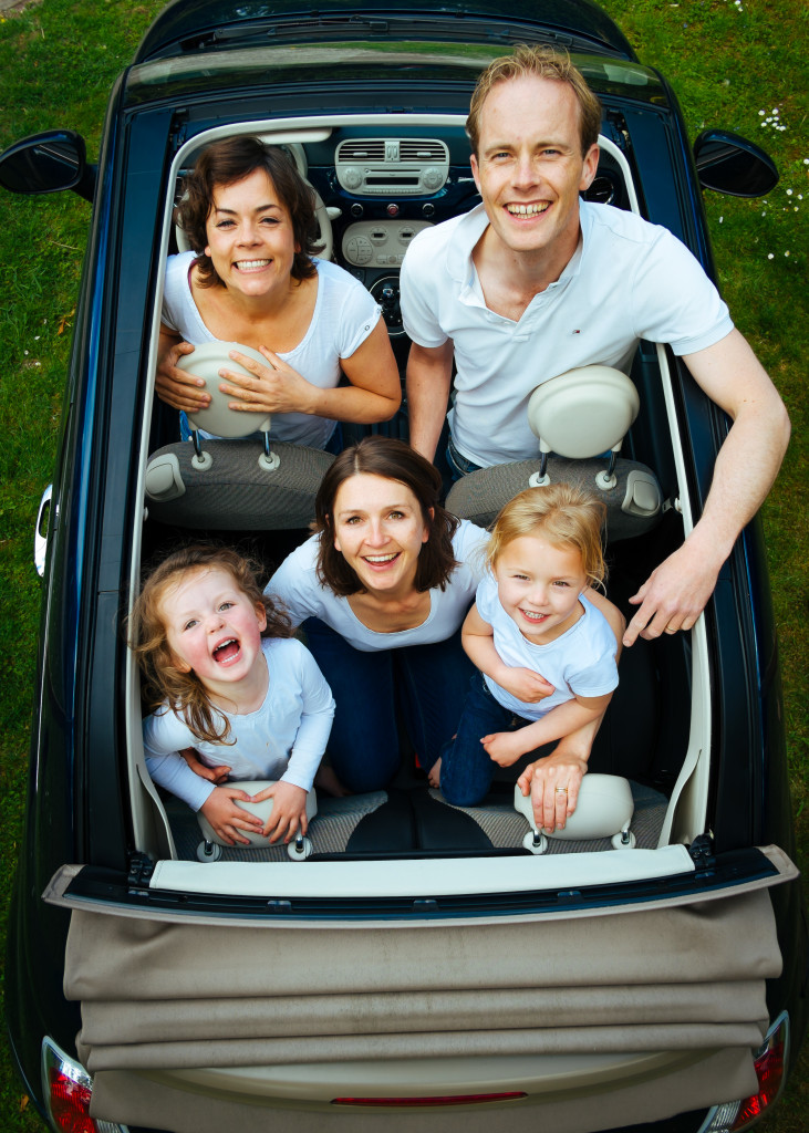 family-in-car