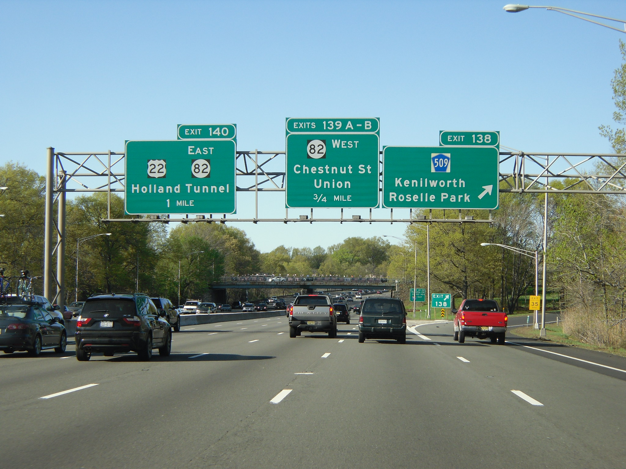 New Jersey Garden State Parkway Traffic
